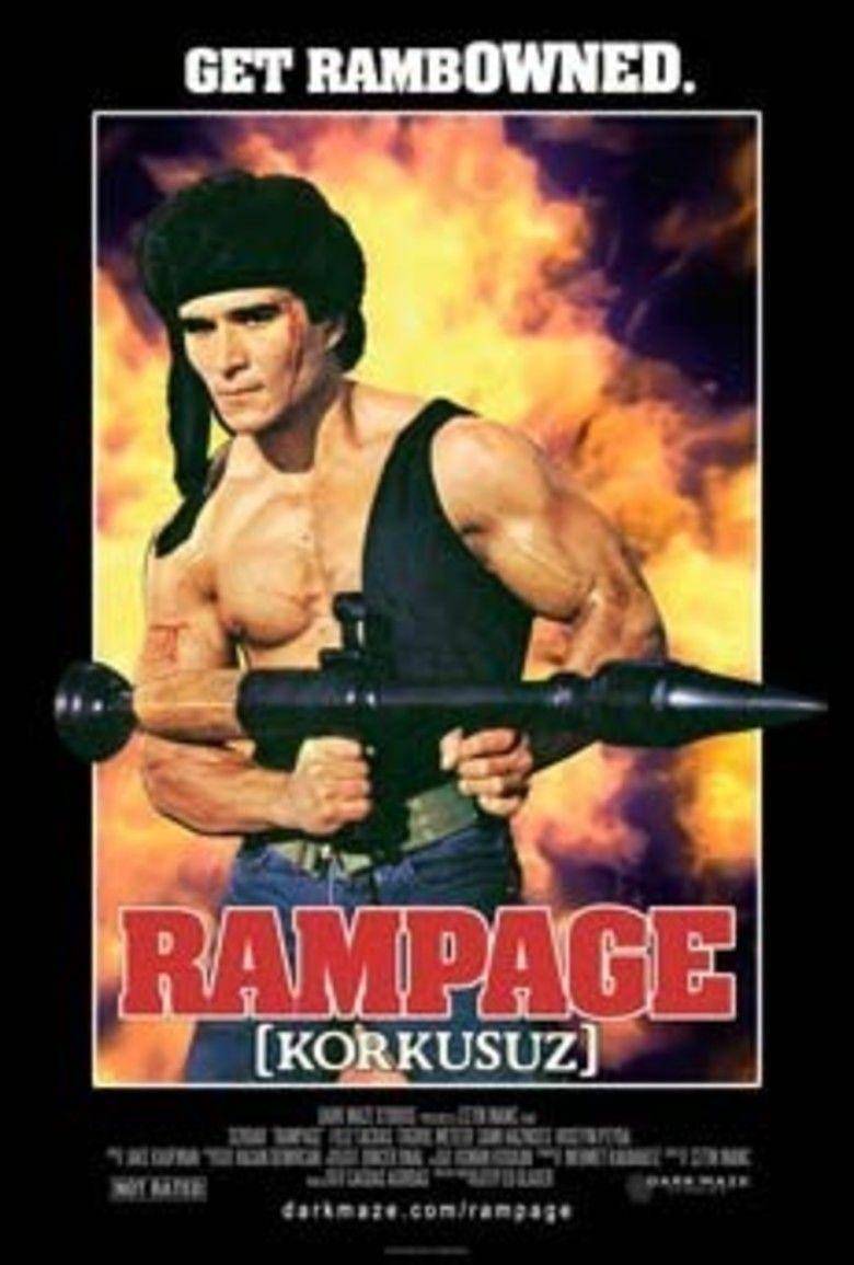 Rampage (1986 film) movie poster