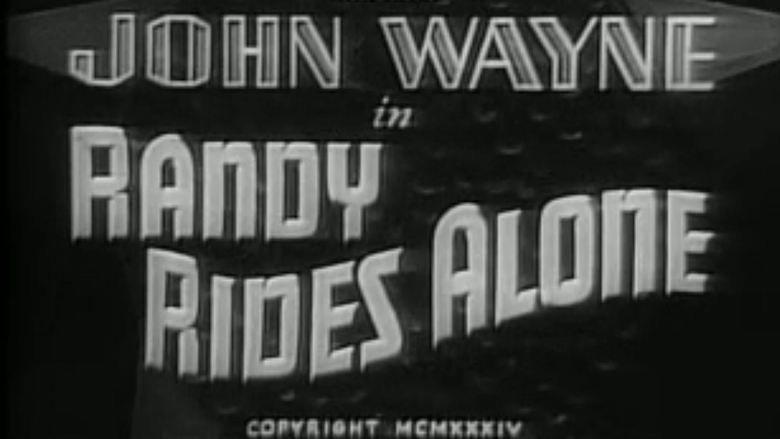 Randy Rides Alone movie scenes