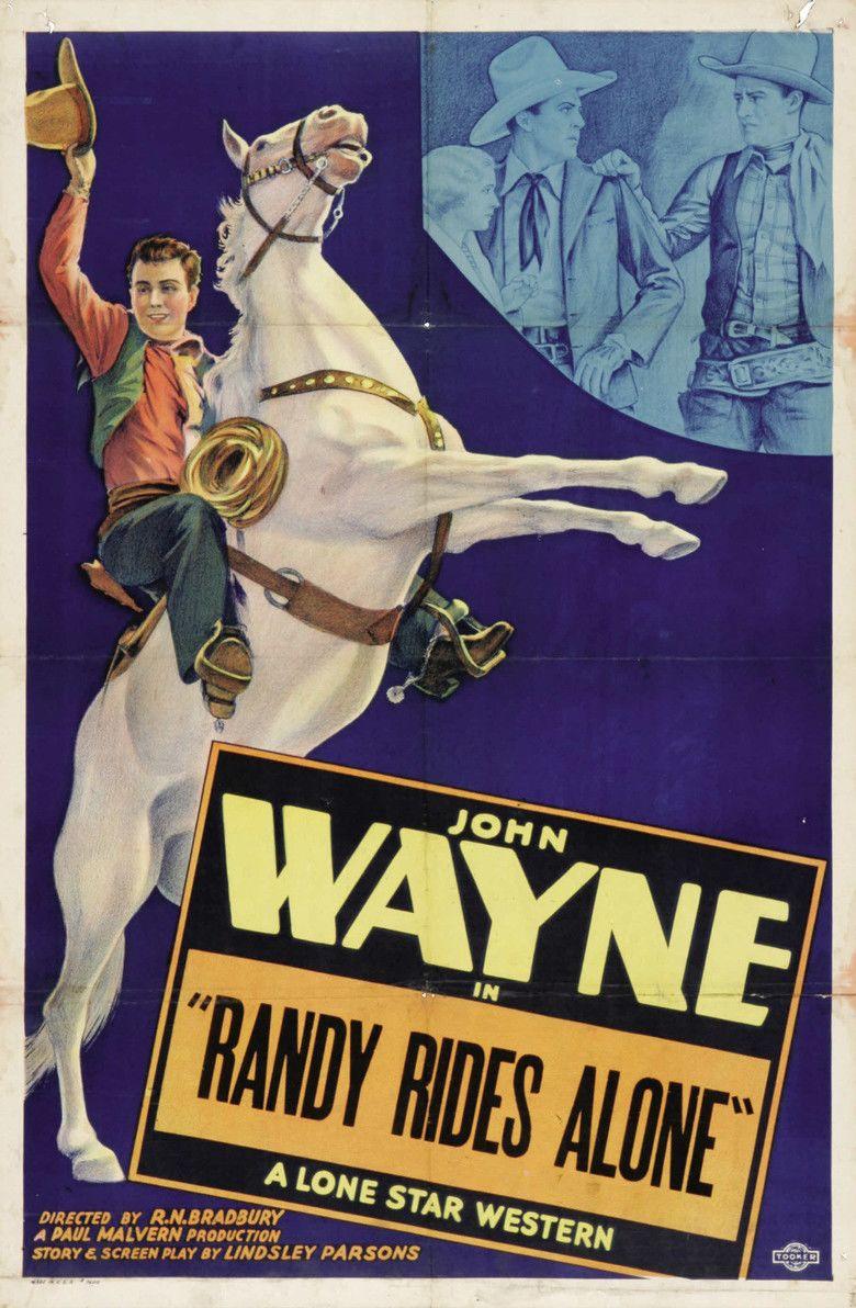 Randy Rides Alone movie poster