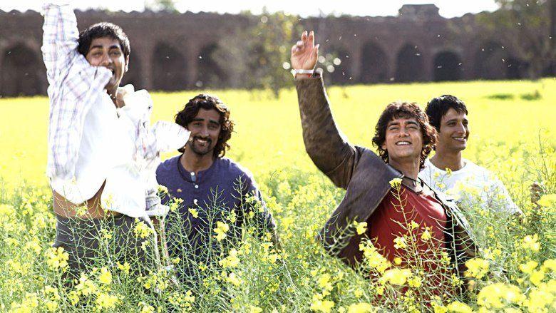 Rang De Basanti movie scenes