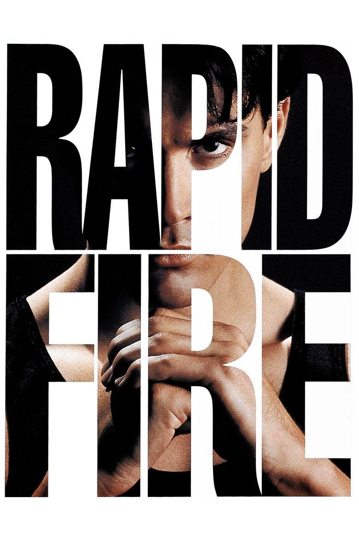 Rapid Fire (1992 film) movie poster