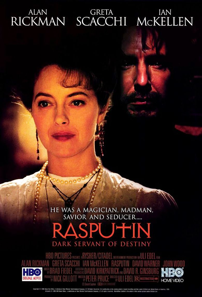 Rasputin: Dark Servant of Destiny movie poster
