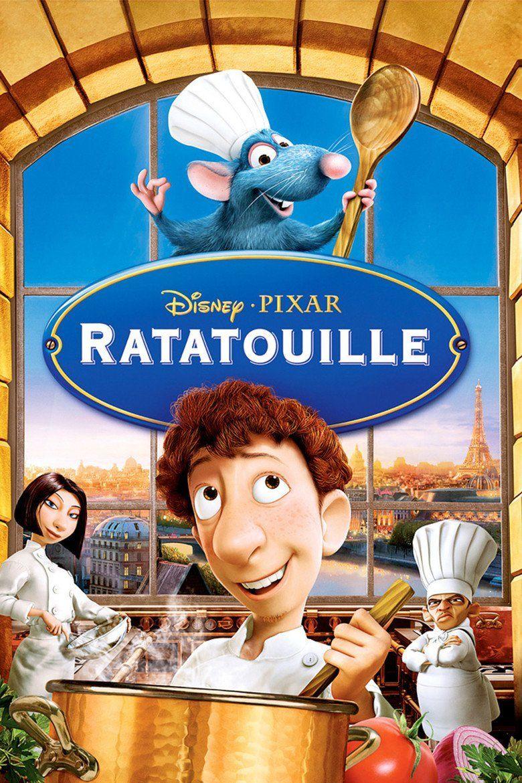 Ratatouille (film) movie poster