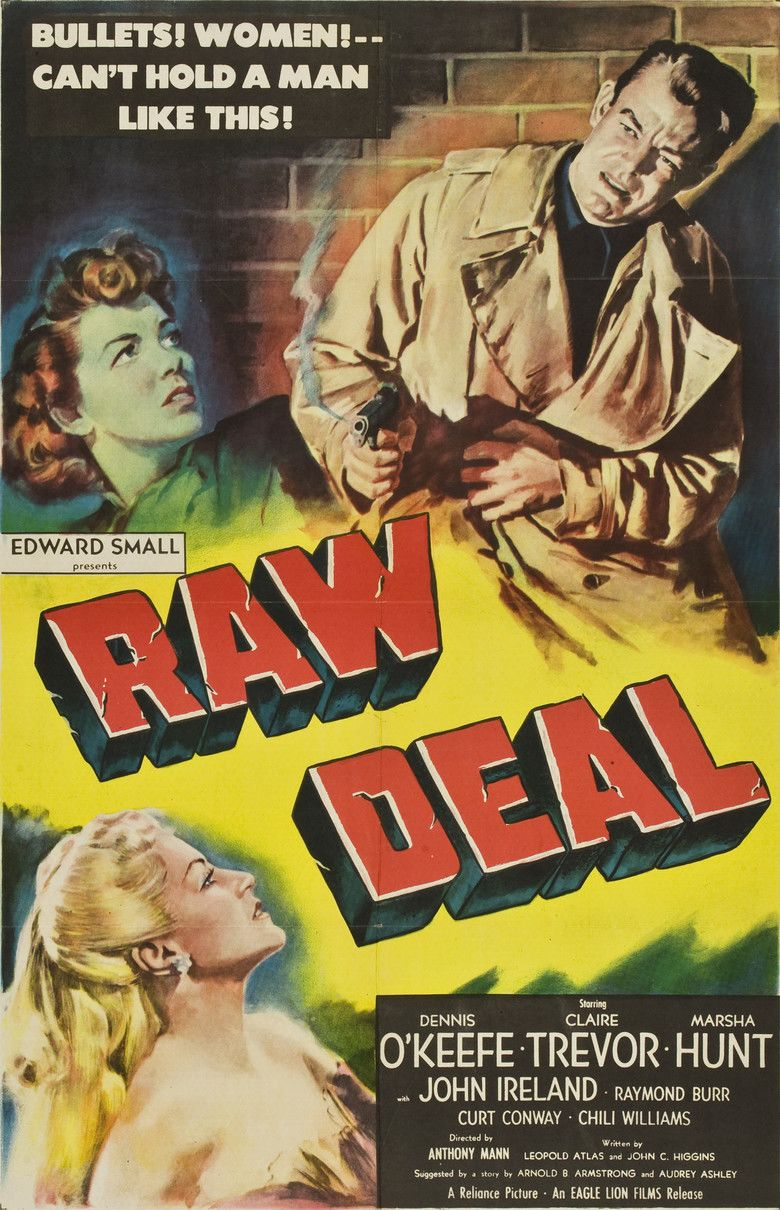 Raw Deal (1948 film) movie poster