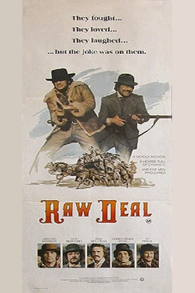 Raw Deal (1977 film) movie poster