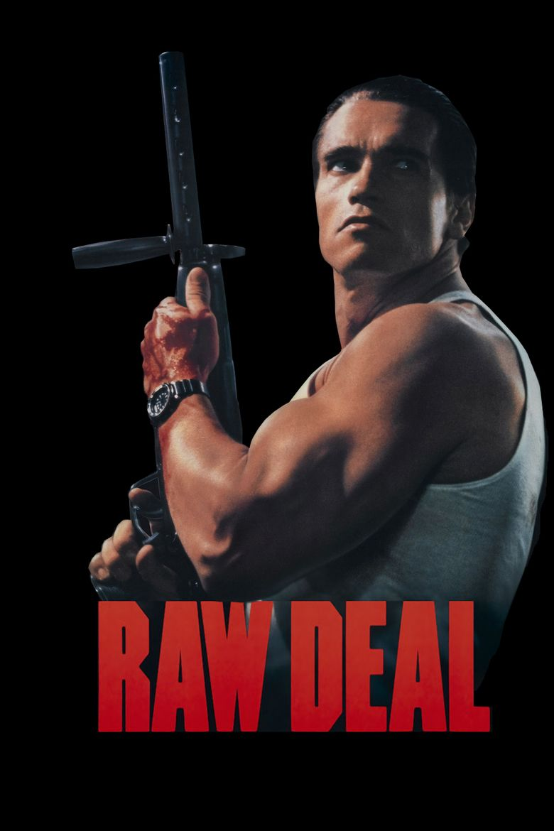 Raw Deal (1986 film) movie poster