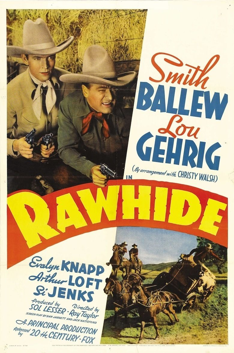 Production building rawhide