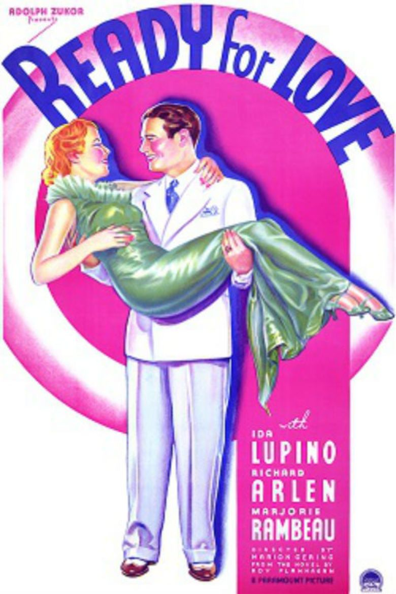 Ready for Love (1934 film) movie poster