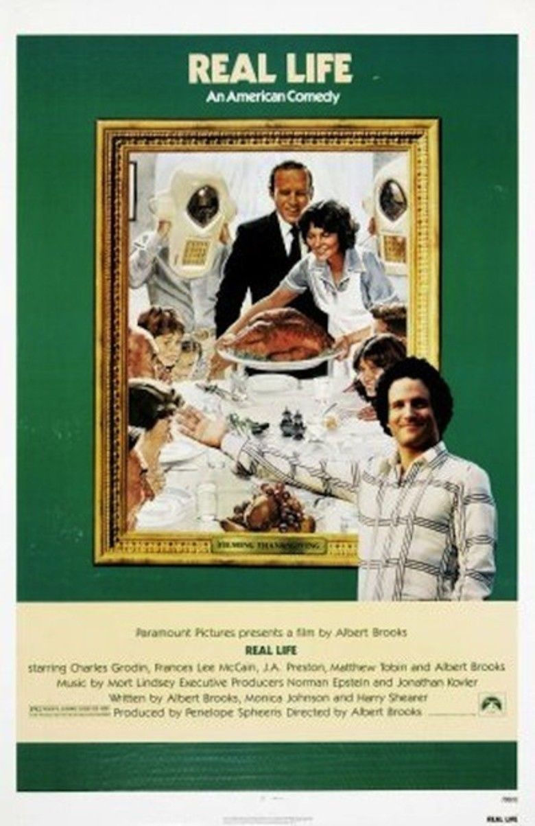 Real Life (1979 film) movie poster