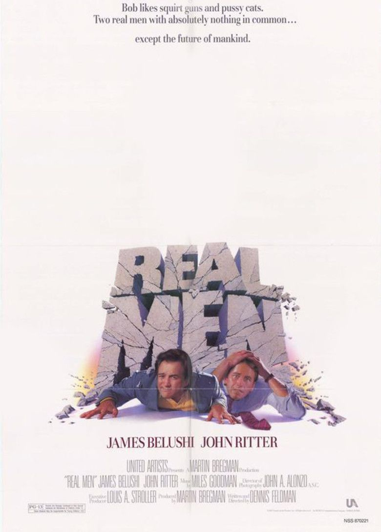 Real Men (film) movie poster
