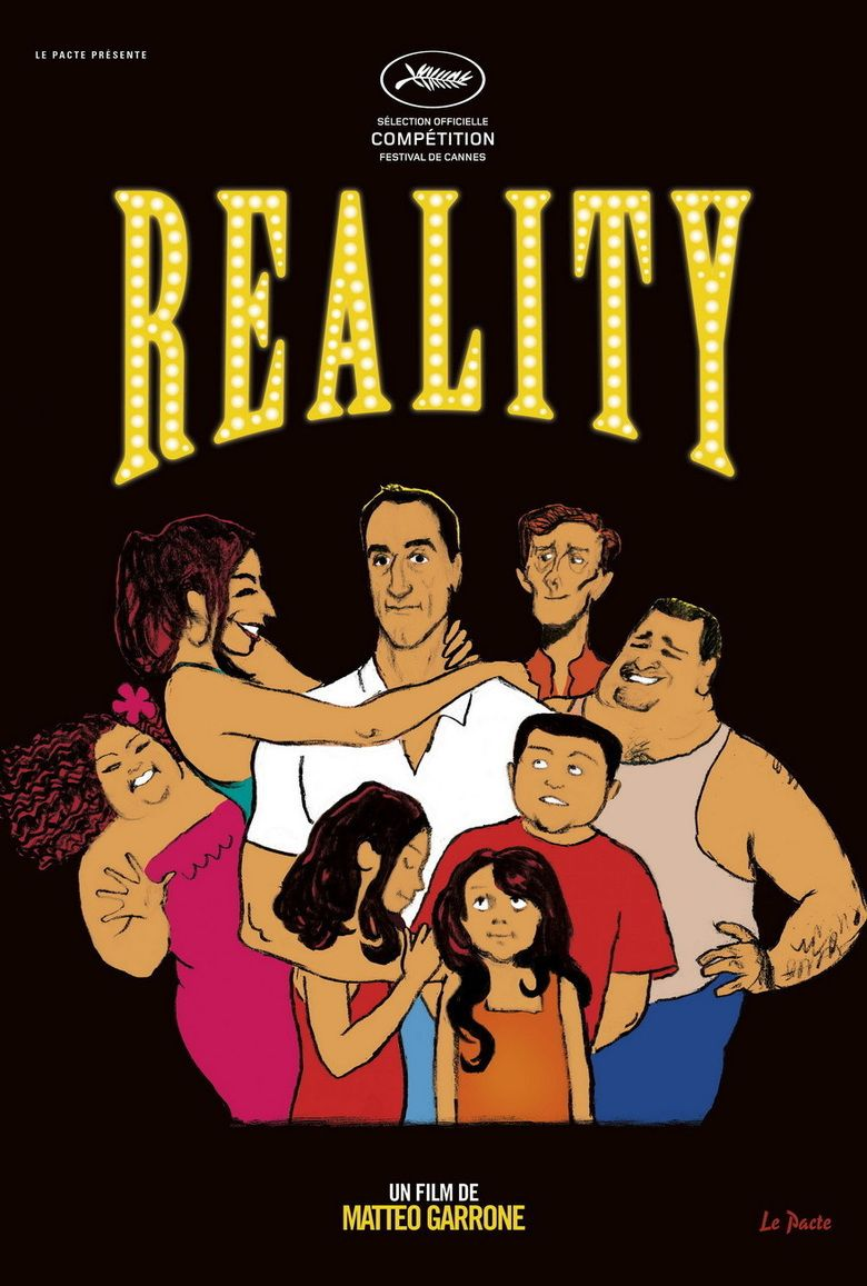 Reality (2012 film) movie poster