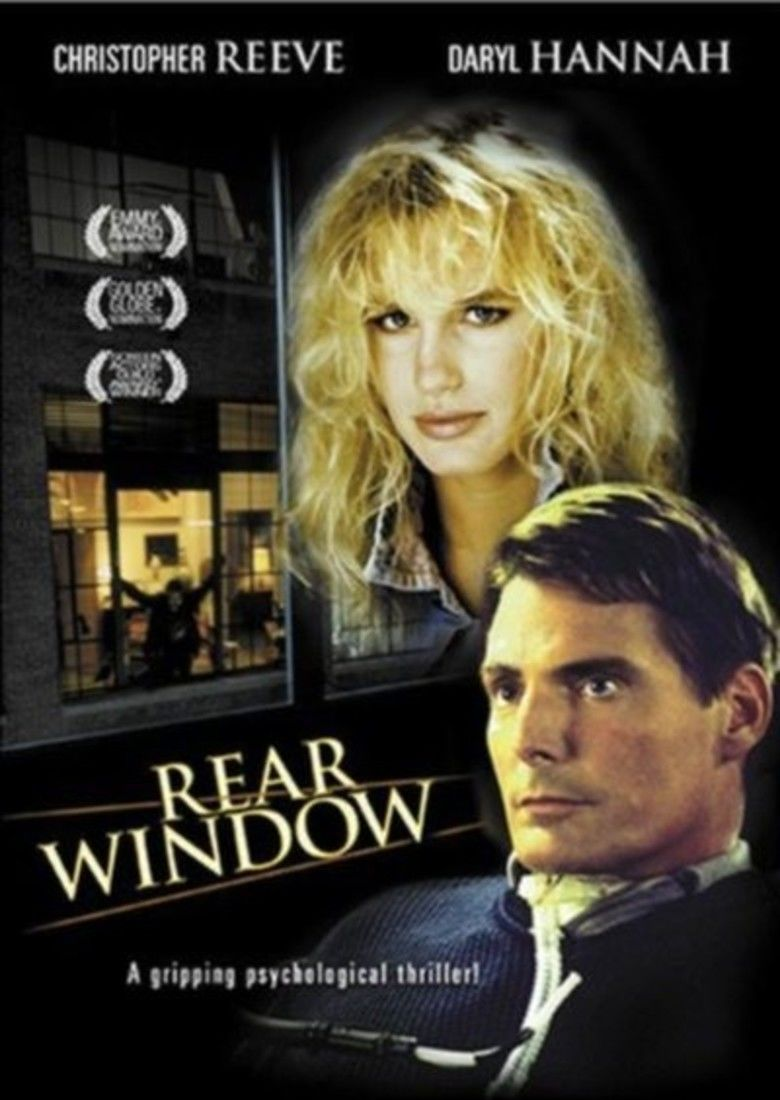 Rear Window (1998 film) movie poster