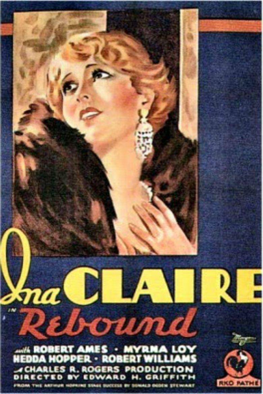 Rebound (1931 film) movie poster