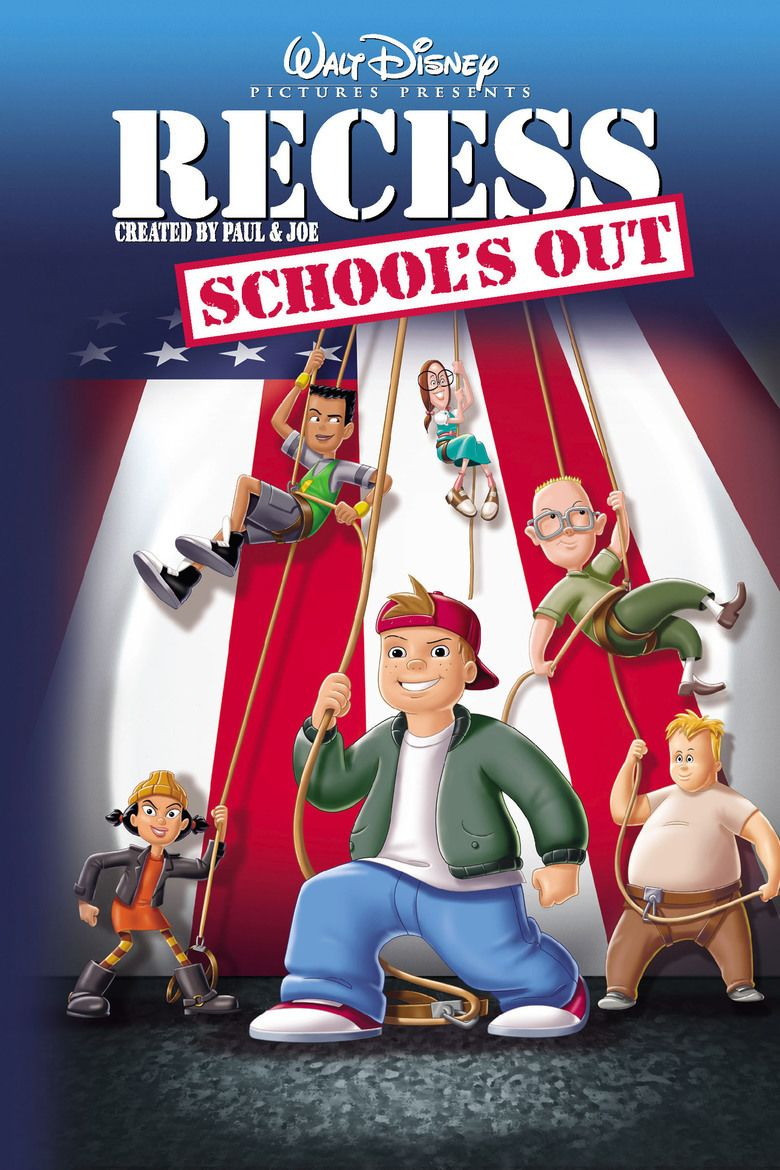 Recess: Schools Out movie poster