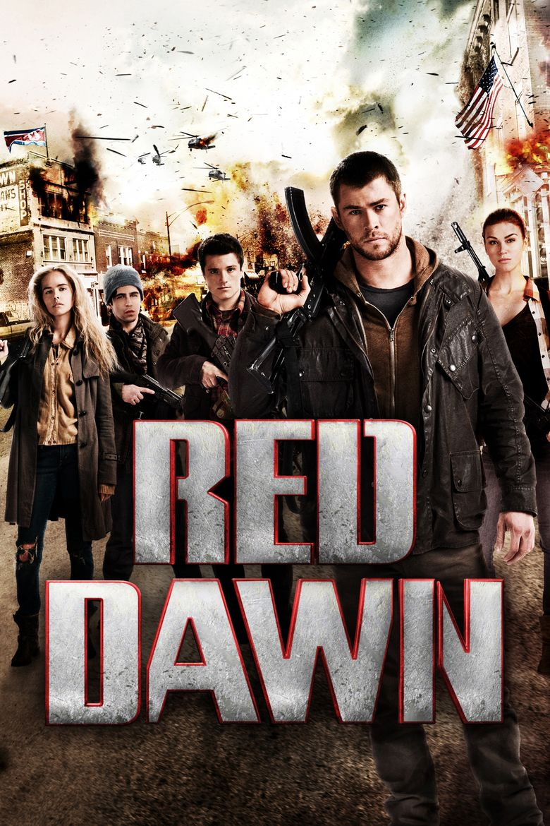 Red Dawn (2012 film) movie poster