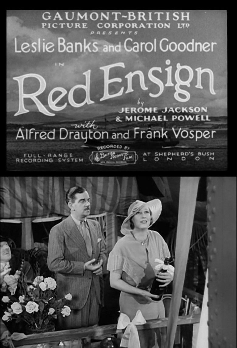 Red Ensign (film) movie poster