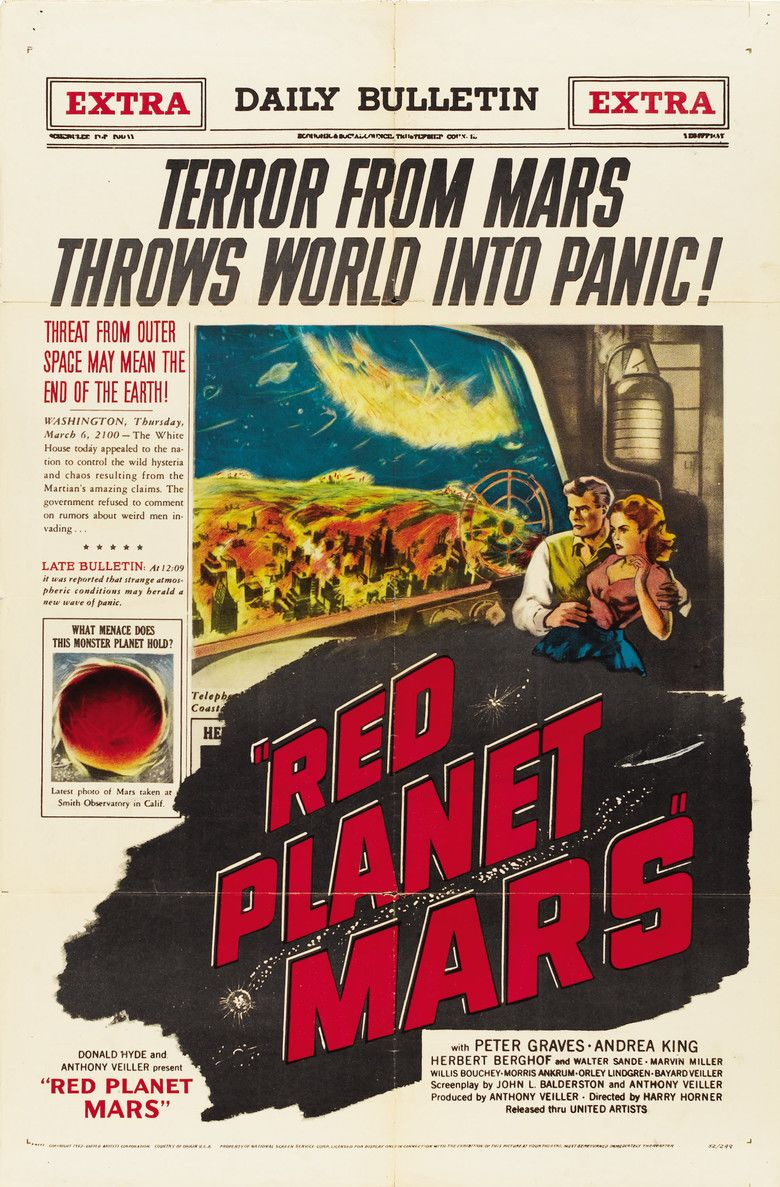 Red Planet Mars movie poster