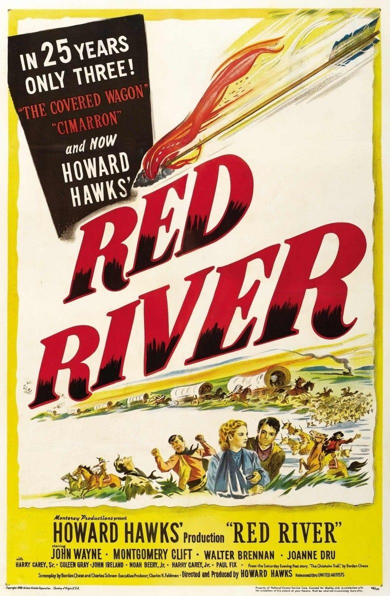 Red River (1948 film) movie poster
