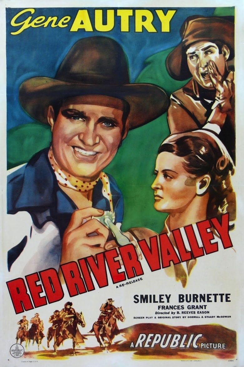 Red River Valley (1936 film) movie poster