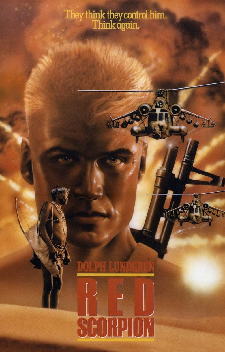 Red Scorpion movie poster