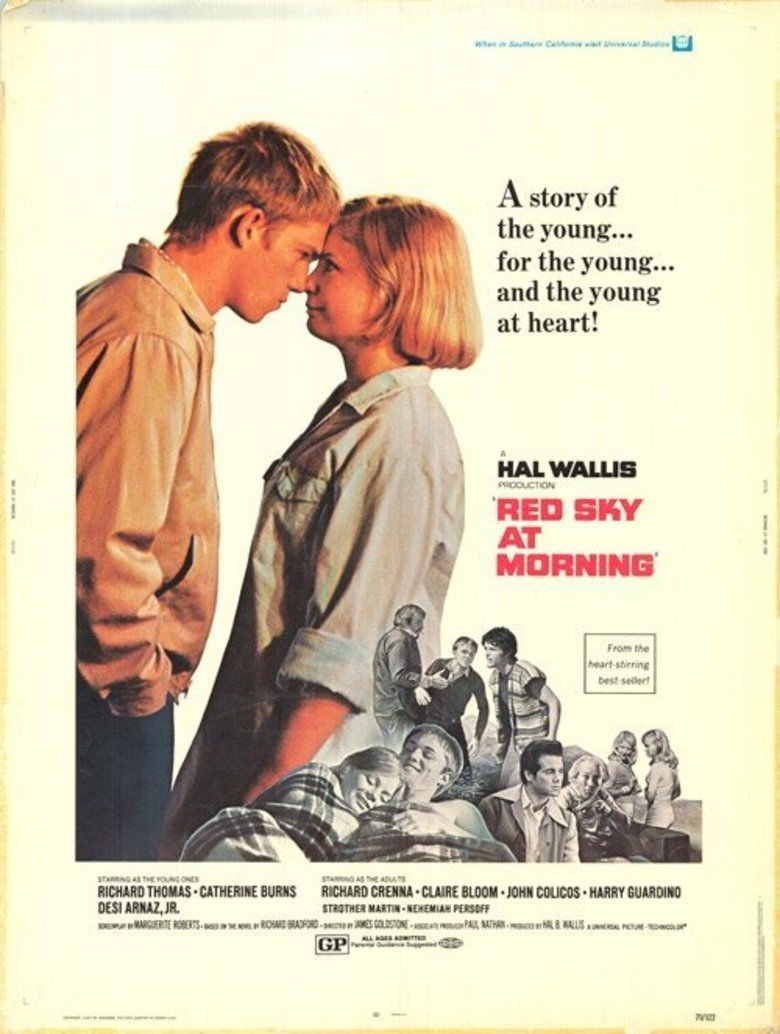Red Sky at Morning (1971 film) movie poster