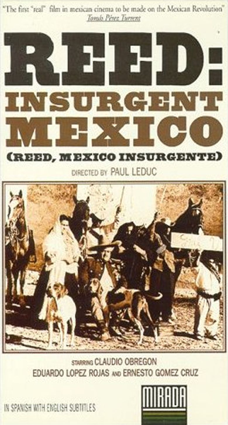 Reed: Insurgent Mexico movie poster