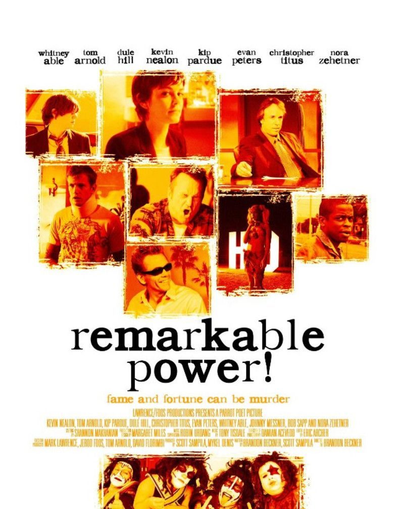 Remarkable Power movie poster
