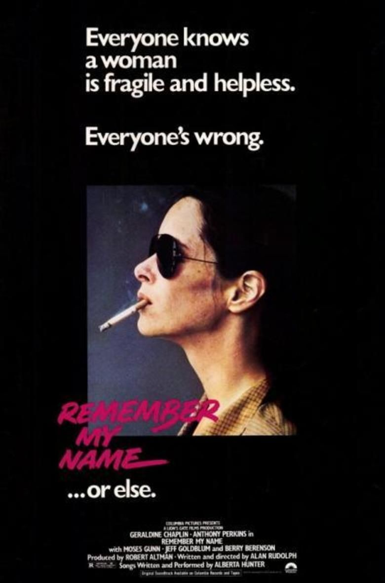 Remember My Name movie poster
