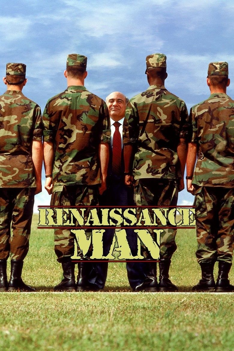 Renaissance Man (film) movie poster