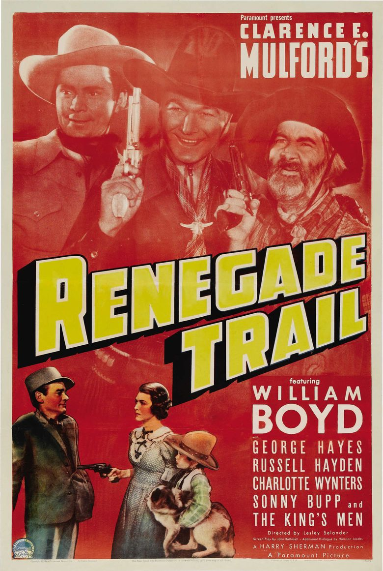 Renegade Trail movie poster