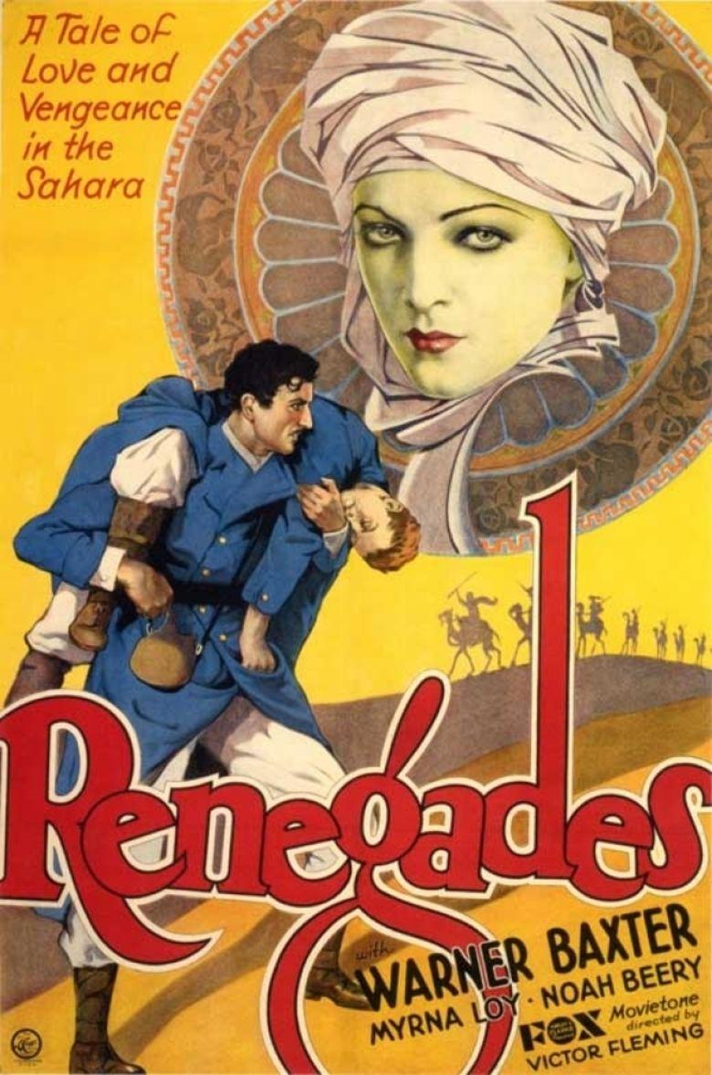 Renegades (1930 film) movie poster
