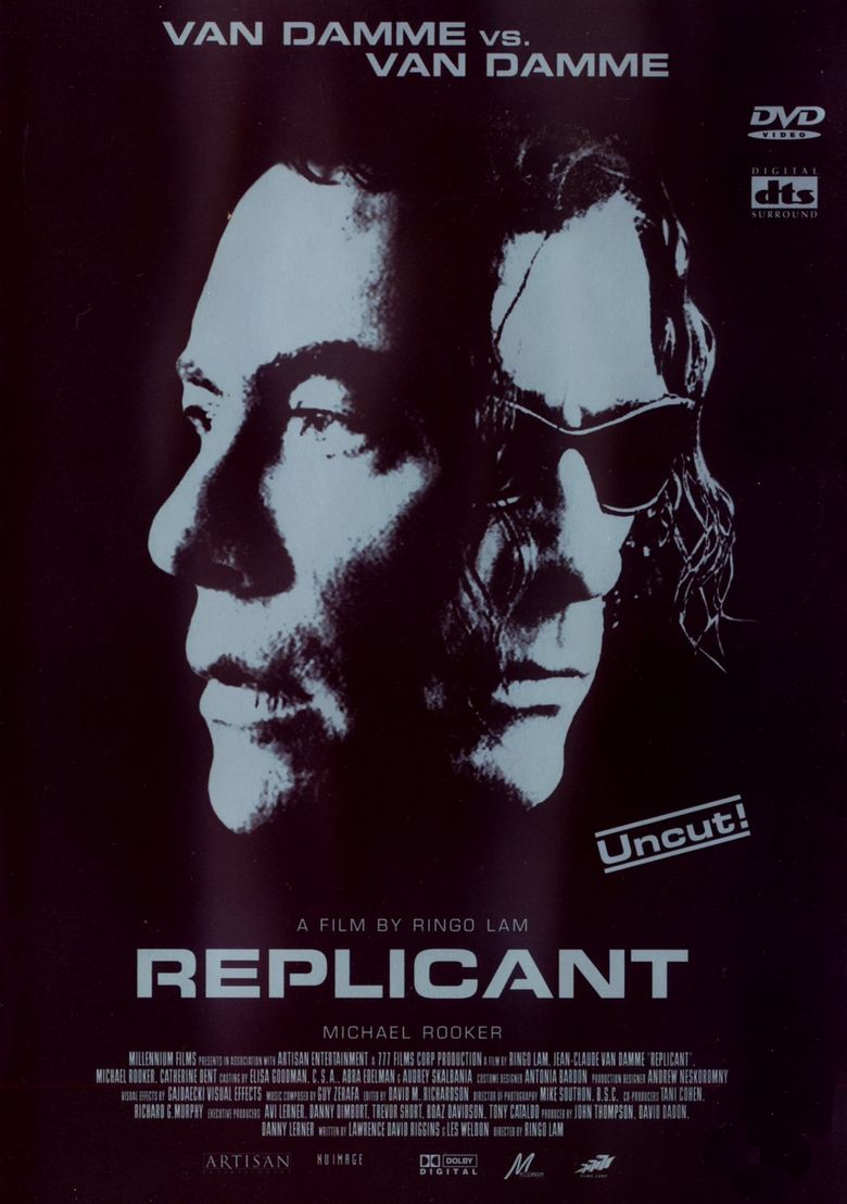 Replicant (film) movie poster