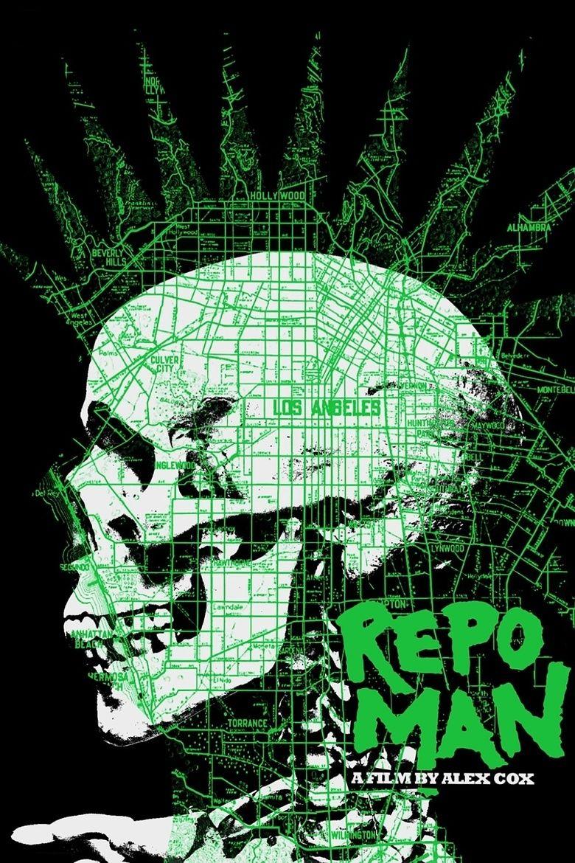 Repo Man (film) movie poster