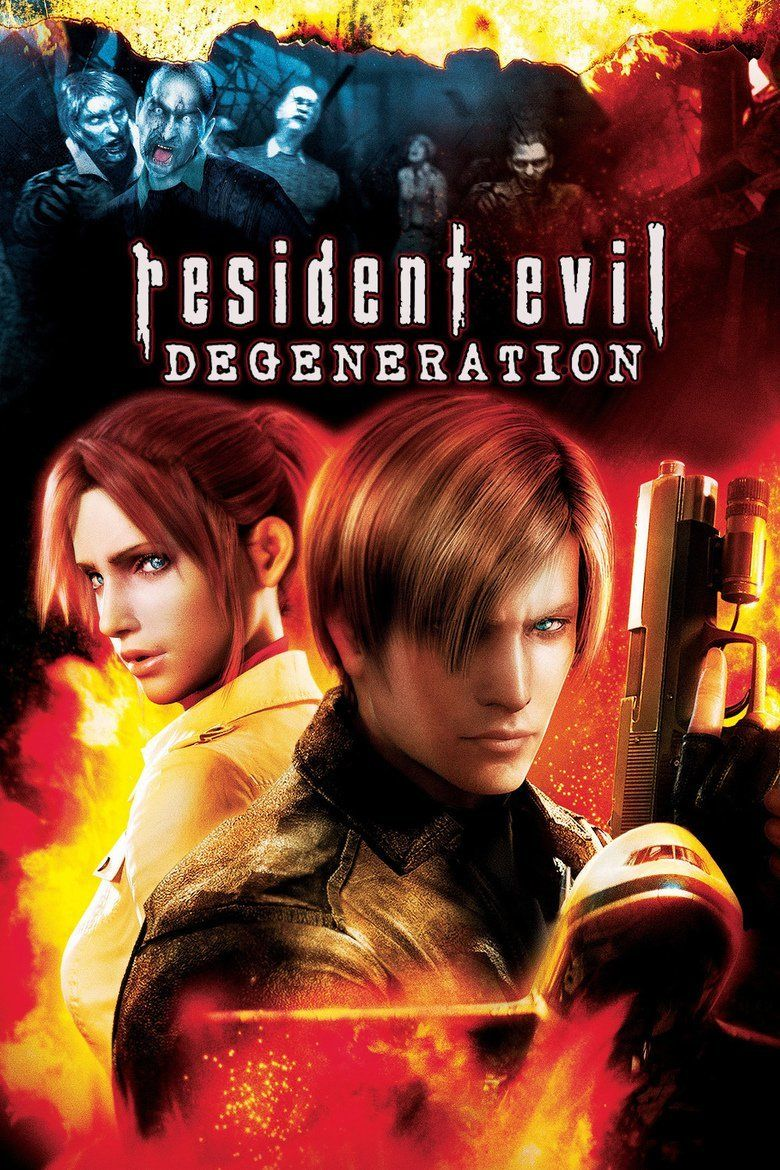 Resident Evil: Degeneration movie poster