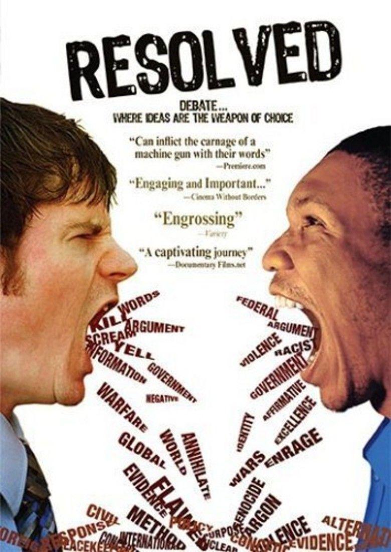 Resolved (film) movie poster