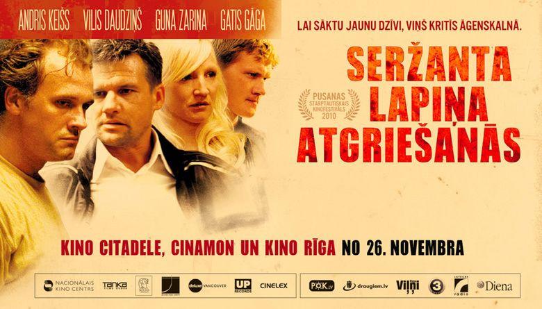 Return of Sergeant Lapins movie scenes