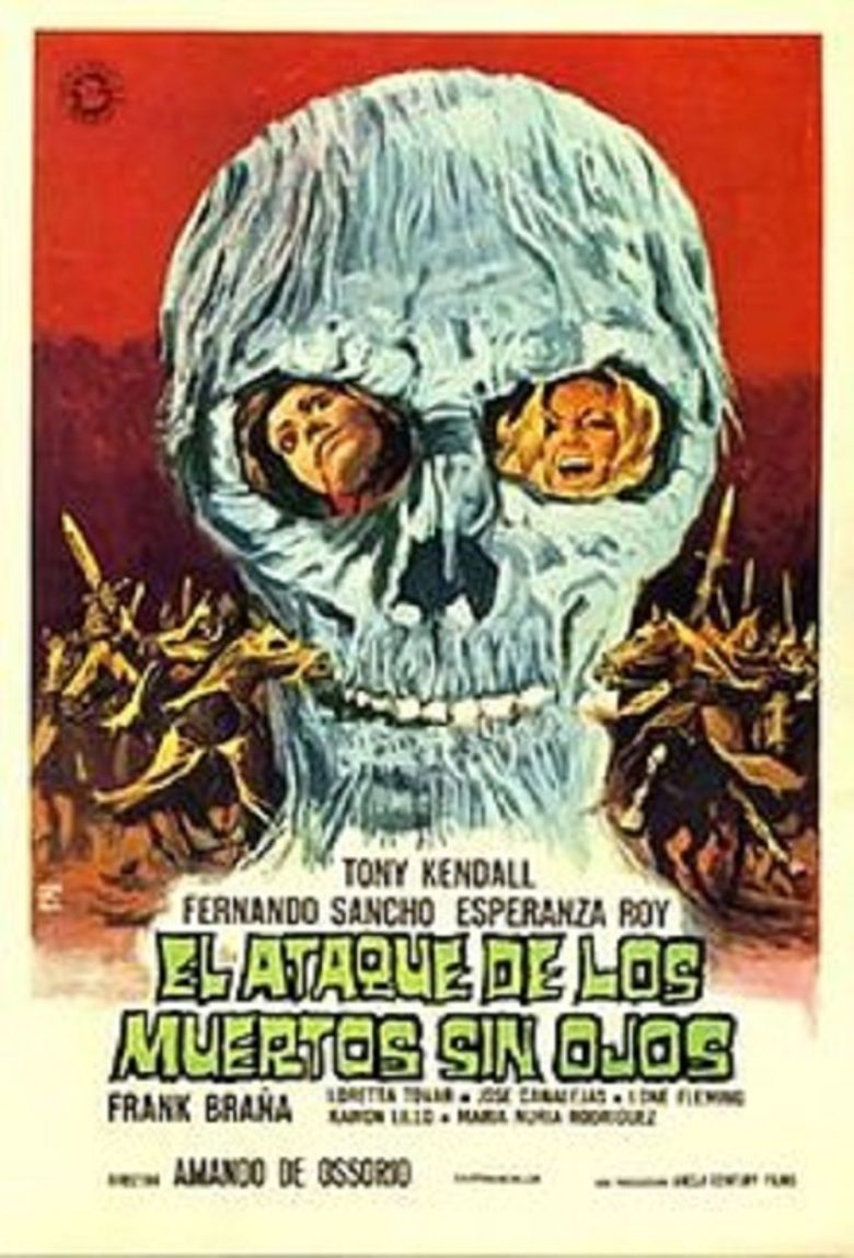 Return of the Blind Dead movie poster