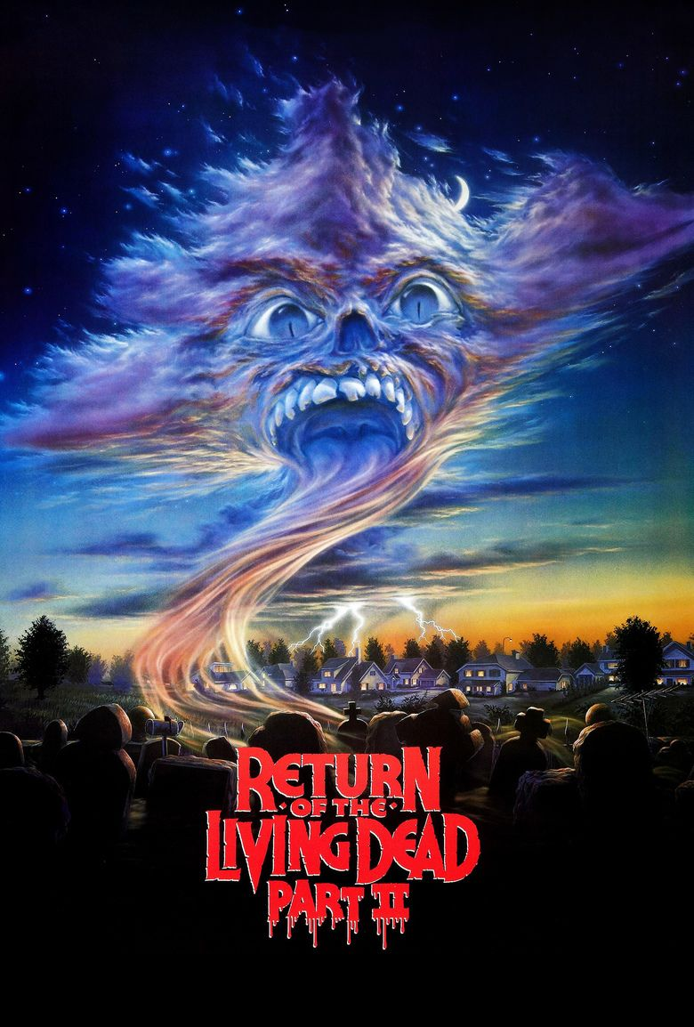 Return of the Living Dead Part II movie poster