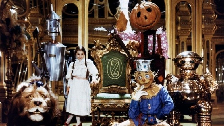 Return to Oz movie scenes
