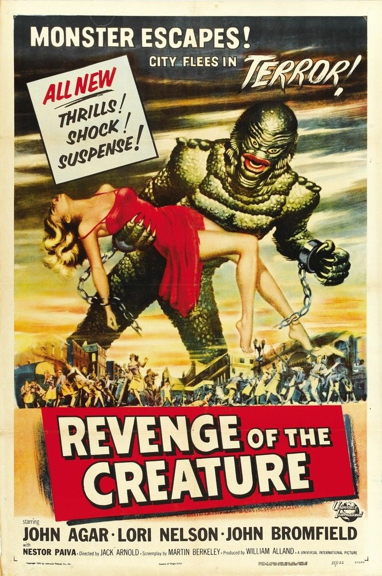 Revenge of the Creature movie poster