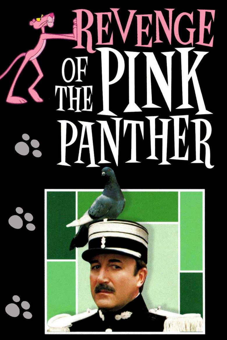 Image result for REVENGE OF THE PINK PANTHER ( 1978 ) POSTER