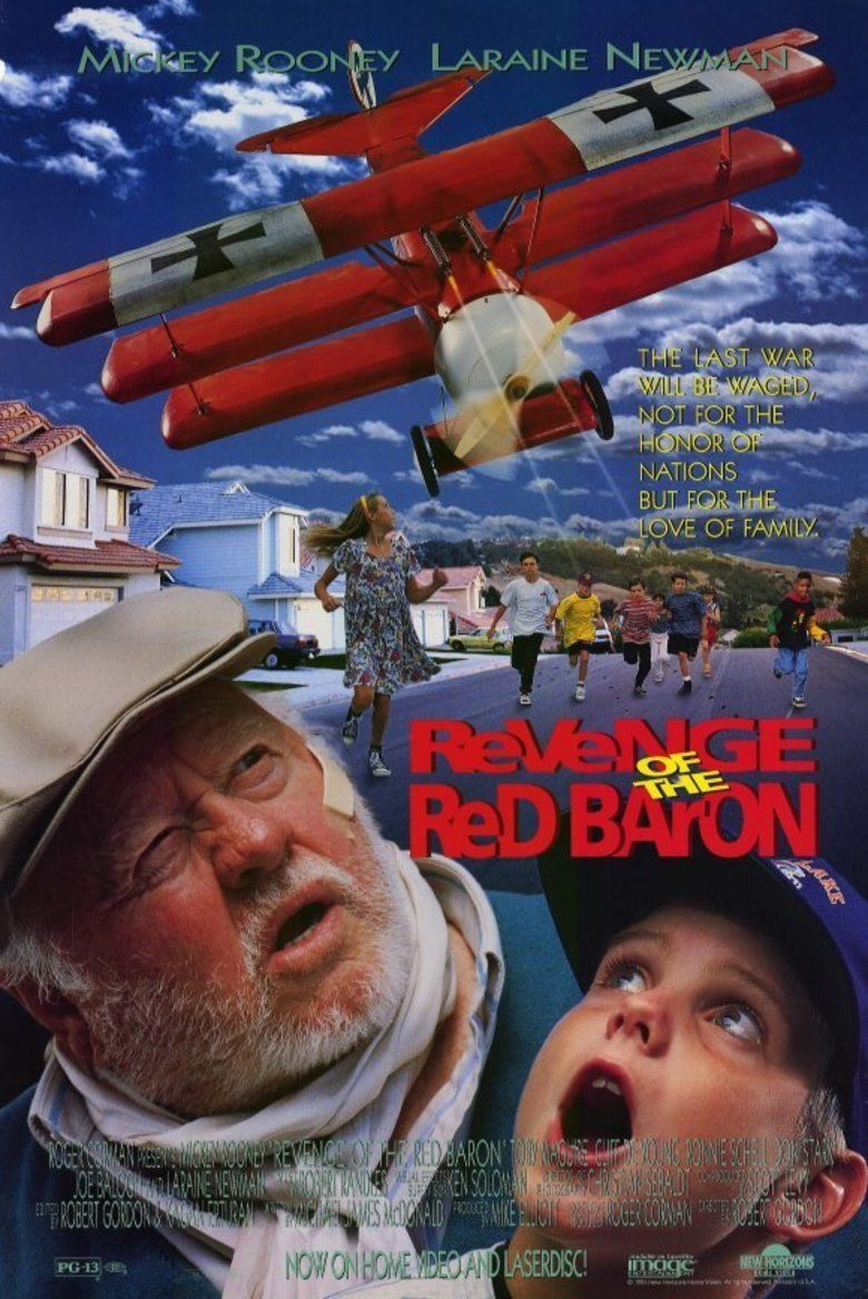 Revenge of the Red Baron movie poster