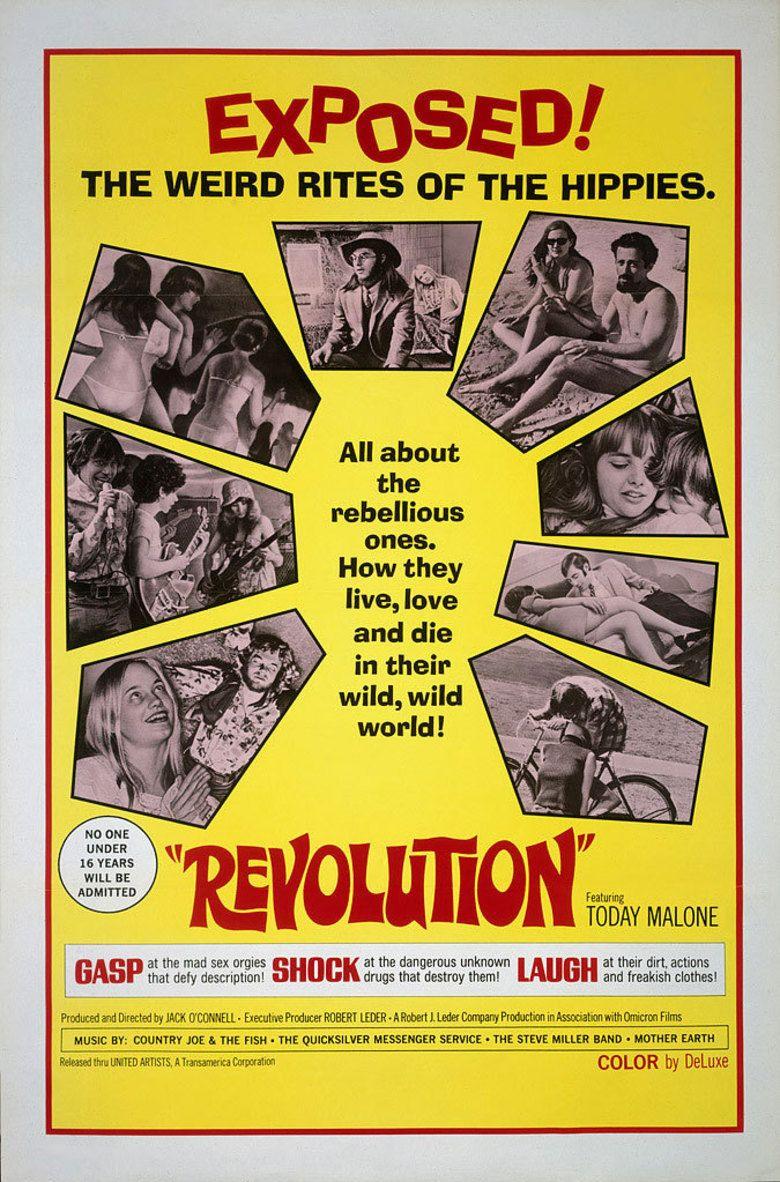 Revolution (1968 film) movie poster