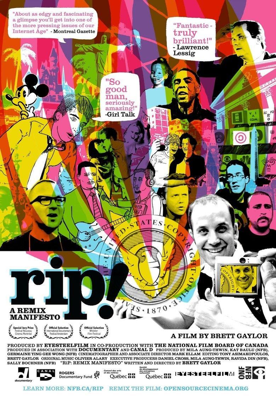 RiP!: A Remix Manifesto movie poster