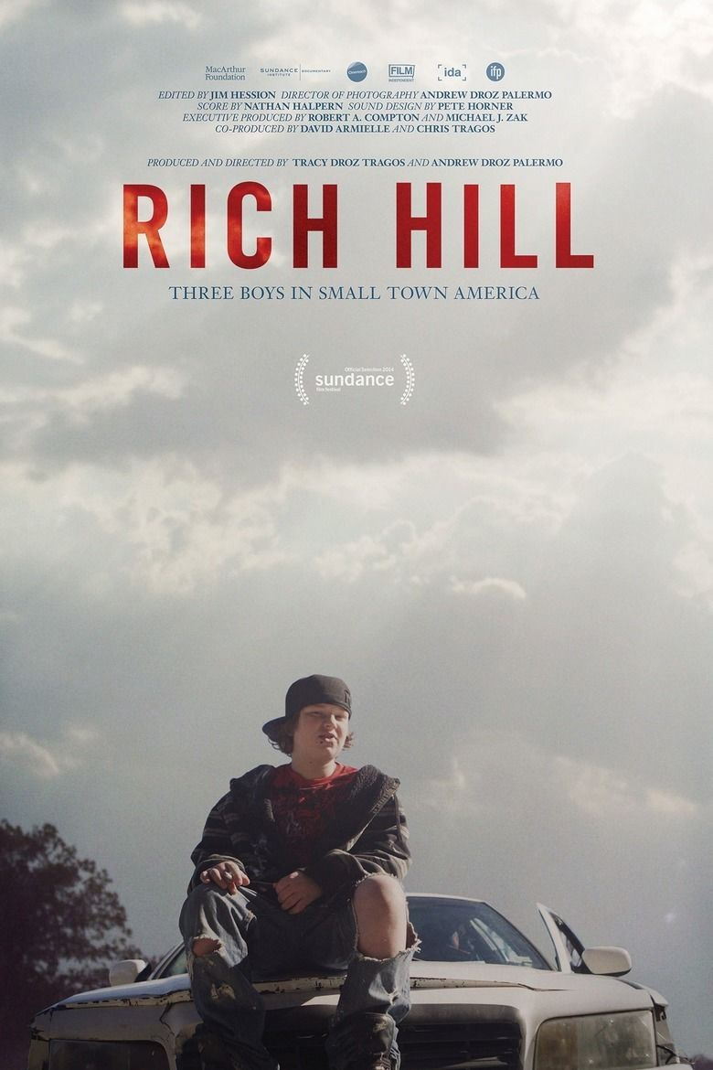 Rich Hill (film) movie poster