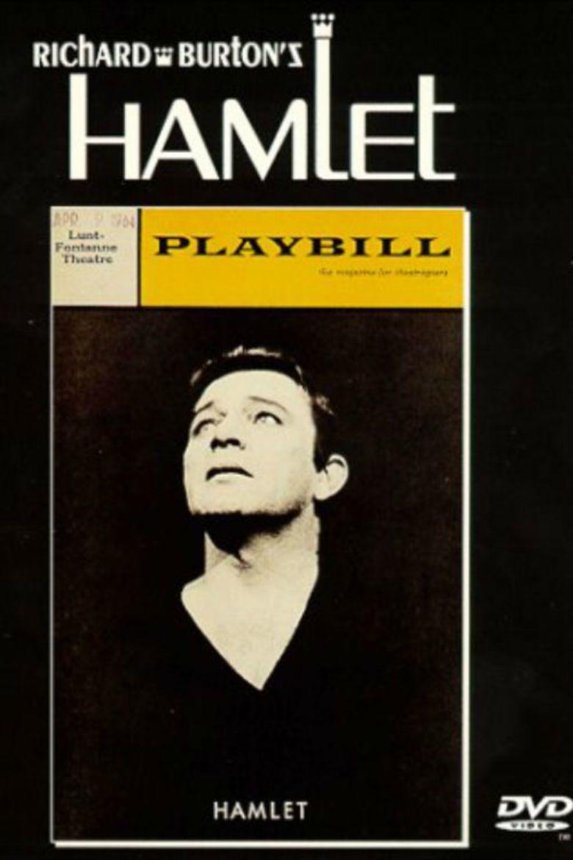 Richard Burtons Hamlet movie poster