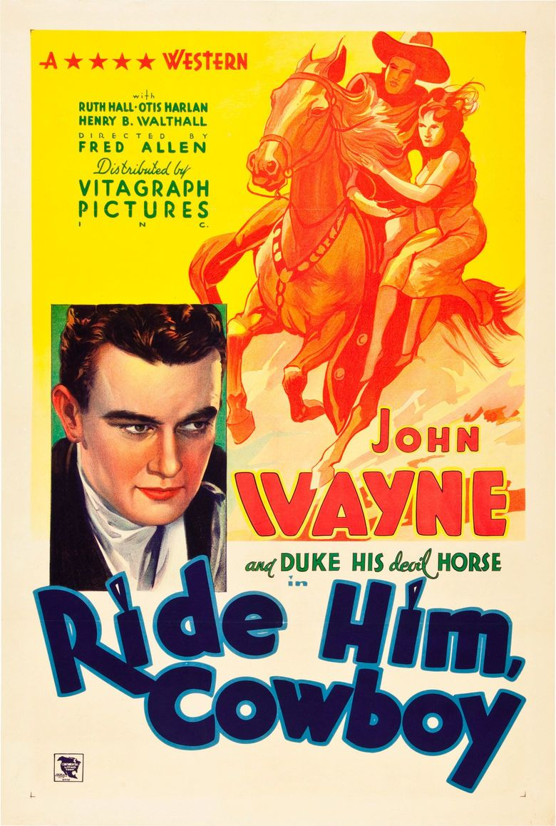 Ride Him, Cowboy movie poster