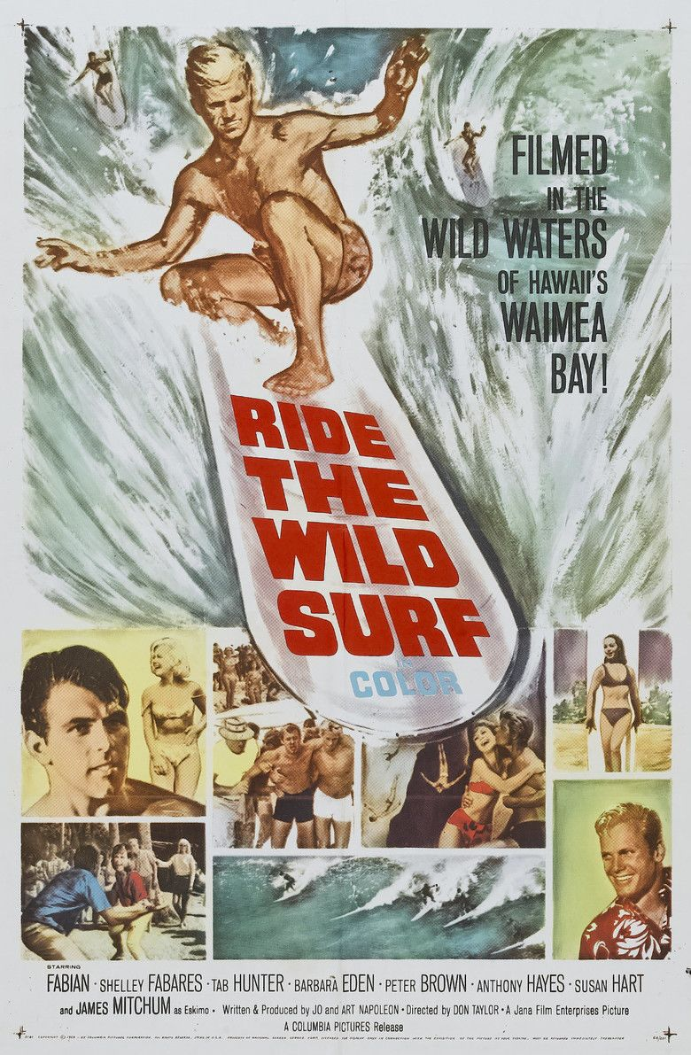 Ride the Wild Surf movie poster