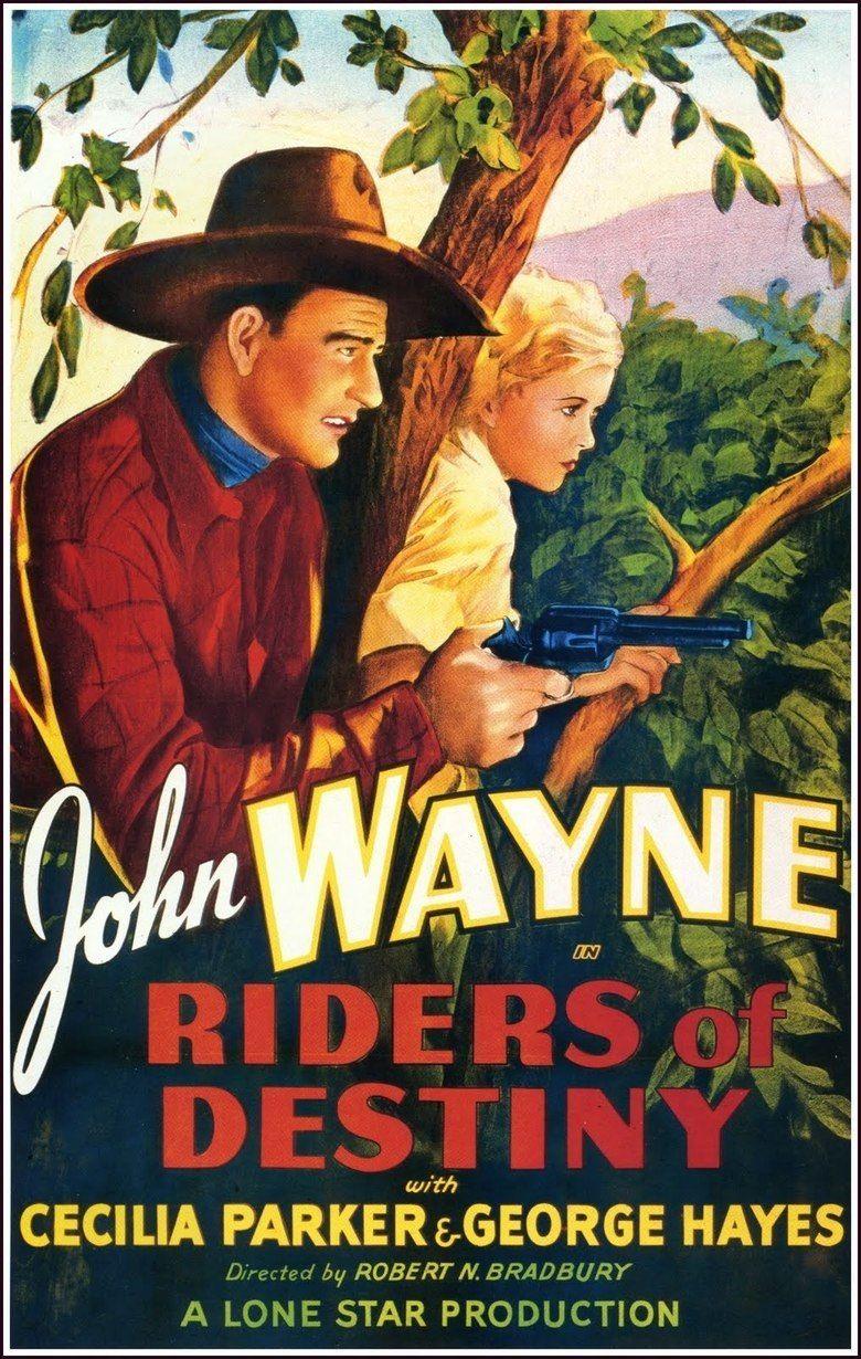 Riders of Destiny movie poster