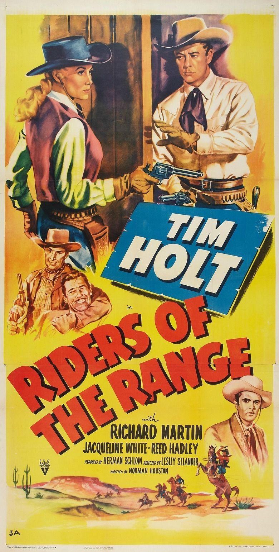 Riders of the Range (1949 film) movie poster
